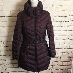 Laundry by Shelli Segal Belted Down Puffer Jacket